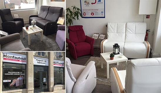 Magasin de fauteuils relax  Lyon fauteuils releveurs et canapés
